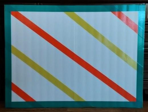 Decorate foam boards