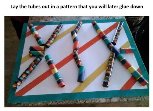 Lay out your tunnel pattern