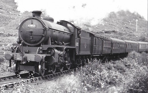I have two Hornby Class K1 locos, as well as two class Q6s (see second picture down from the top of this page). Well underway, you might say