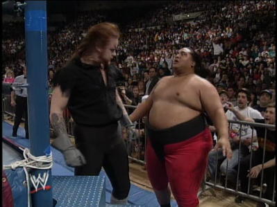 This was before heel champions ran in fear of any and every opponent they faced.