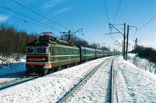 The Trans-Siberian forms a bedrock for the regional economy.