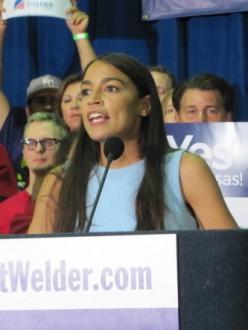 Alexandria Ocasio-Cortez:  Making Headlines Despite No Political Experience