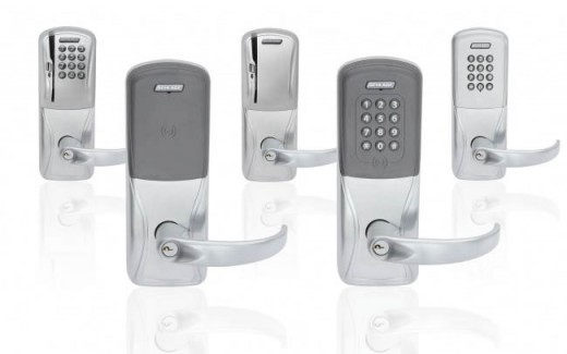 Schlage Electronics AD Series electronic locks.