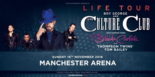 Culture Club on tour with other 80's icons.