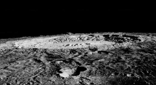 Limb of Copernicus Impact Crater