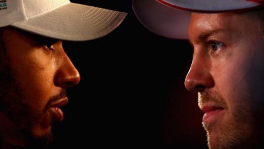 Hamilton and Vettel Head to Head