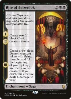 Top 10 Saga Cards in Magic: The Gathering