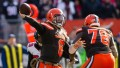 Browns beat Atlanta 28-16 in Cleveland. Mayfield throws 3 TDs and Chubb runs for 176 yards.
