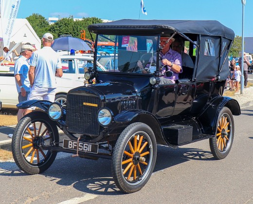 1918 Ford Model T Touring 2.9 Taken at the British Motor Museum Old Ford Rally 2018, Gaydon