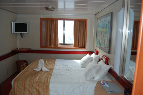 Our oceanview stateroom on Deck 4