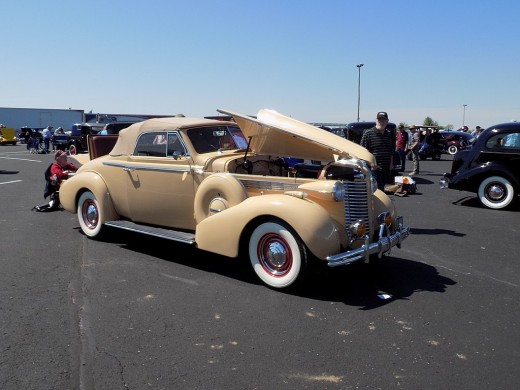 1938 Buick Century Convertible