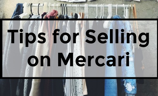 How to sell clothes and other household items on Mercari.