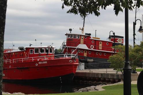 Boats in Door County