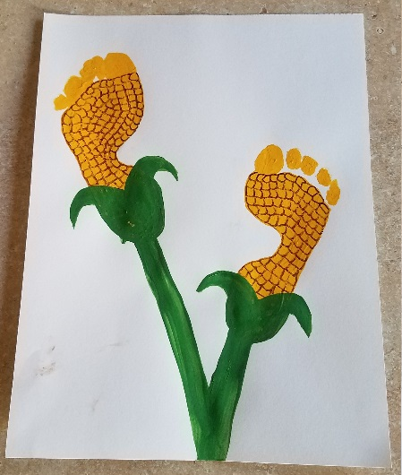 Cornstalk Footprints