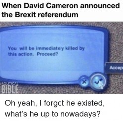 The Return of Cameron?