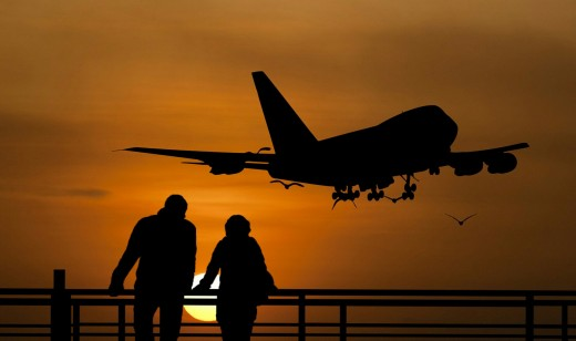Travel by airplane, boat, train, auto, bicycles, motor bikes, or walking to your chosen destination. Traveling includes various methods of transportation.