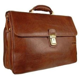 A briefcase is a popular law school graduate gift.