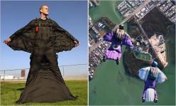 Mountain Wingsuit Flying