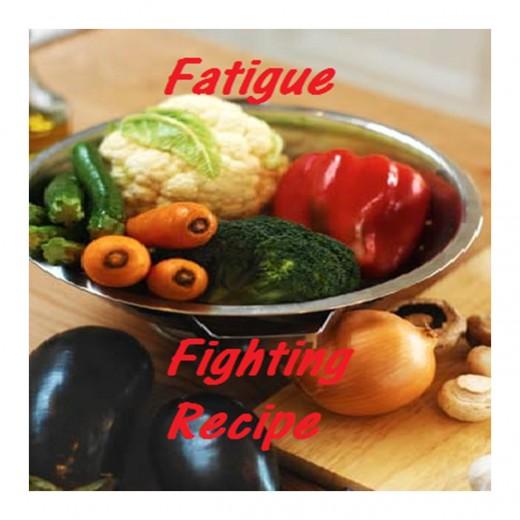 Fatigue fighting recipe