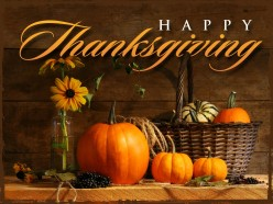 My Thank You List for Thanksgiving