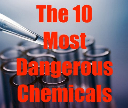 This article lists the 10 most dangerous chemicals known to mankind.