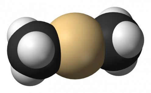 This innocent looking little molecule, dimethyl cadmium, is arguably the most dangerous chemical in the world.