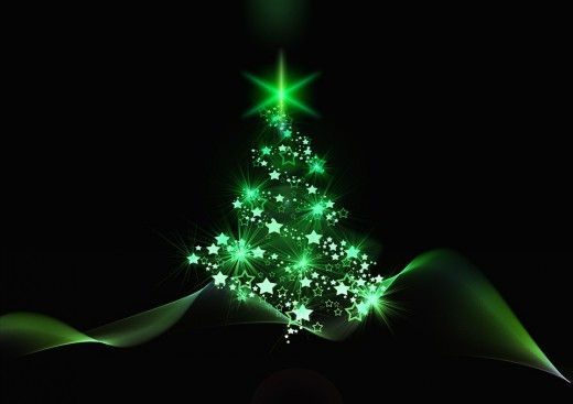 A green Christmas tree