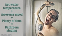 How people sing effectively at bathroom but why not singing in public place