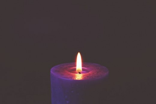 A cool way to meditate is upon an object. Candles have long been favoured as objects of meditation. We see them in churches, temples and on romantic dinner tables!