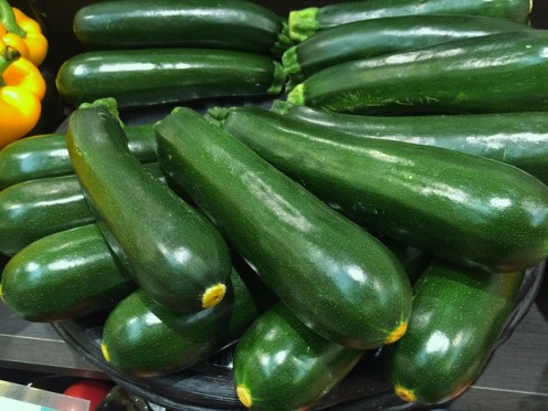 Bunch of zucchini