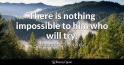 There is nothing impossible for God