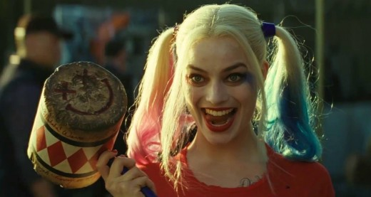 Margot Robbie as Harley Quinn in Suicide Squad. (image courtesy of Warner Bros.)