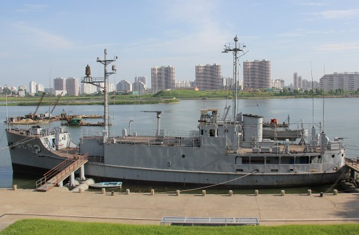 The USS Pueblo in North Korea, 2012,