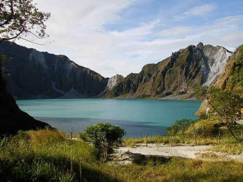 Mount Pinatubo Crater Lake in 2008