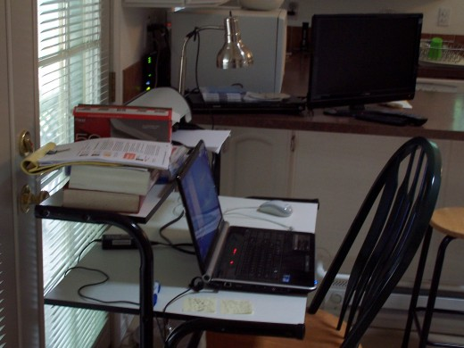 My Safe Place for writing!