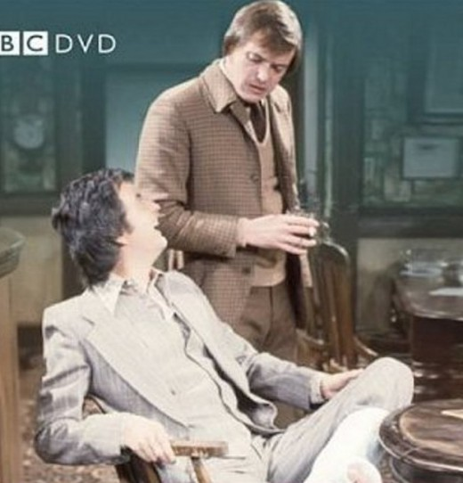 """Rodney Bewes and James Bolam in """"Whatever Happened to the Likely Lads?"""""""