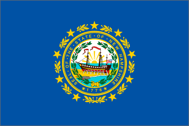 State flag of New Hampshire