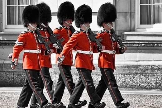 Queen's Guard at Buckingham Palace