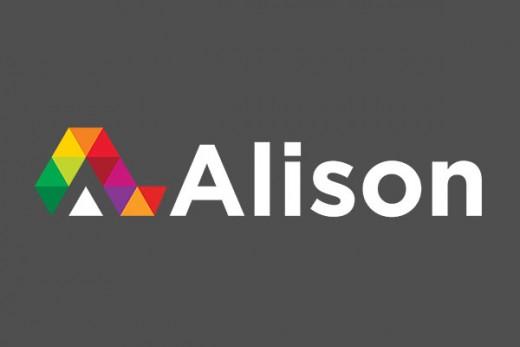Logo for the Alison website. Looks promising!