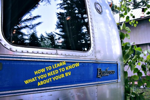 The Best Way to Learn About Your RV