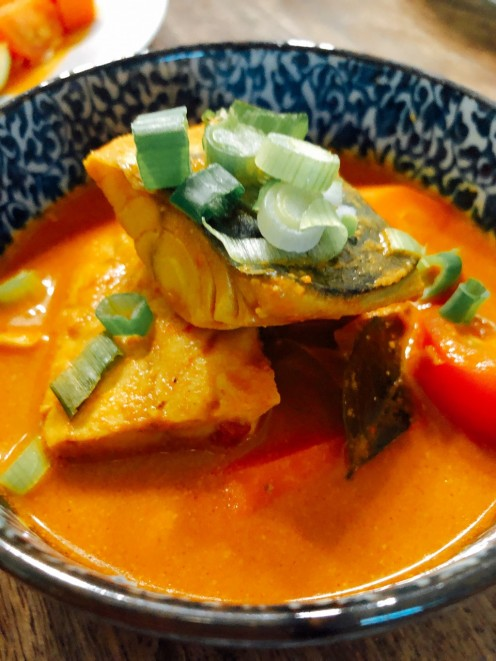 Malay-Style Fish Curry