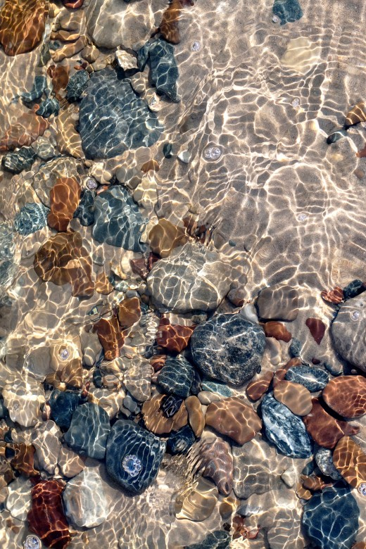 Pier Cove Beach - Lake Michigan Beach Stones