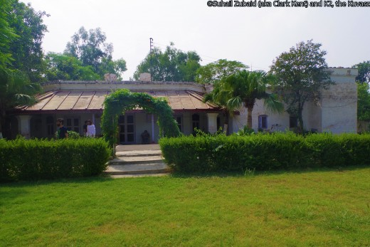 Our childhood home, constructed about 100 years ago, is also reflective of Raj architecture.