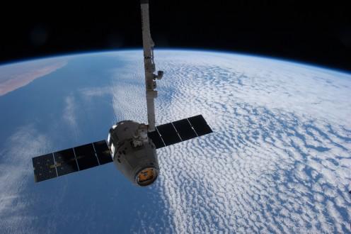 SpaceX satellite orbit