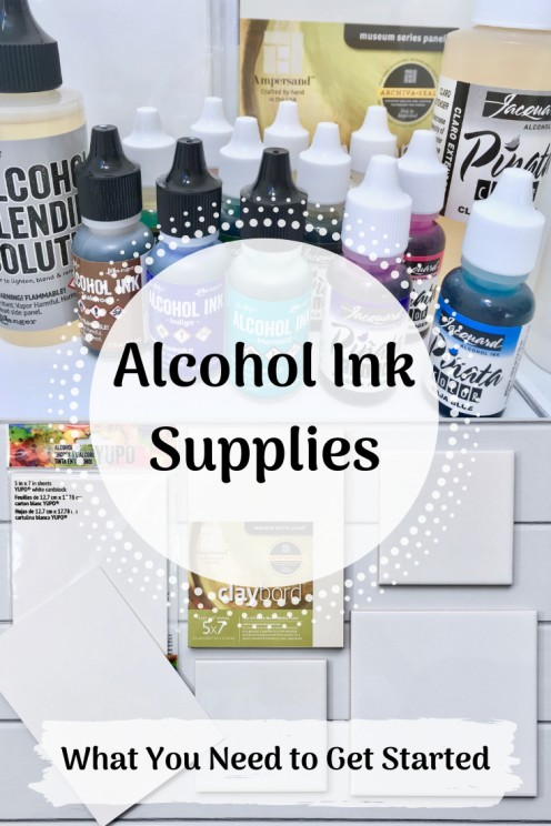 Alcohol Ink Supplies: What You Need to Get Started