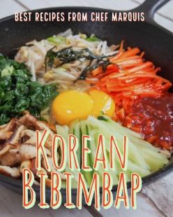 Korean Bibimbap (Korean Rice With Vegetables) Made Easy