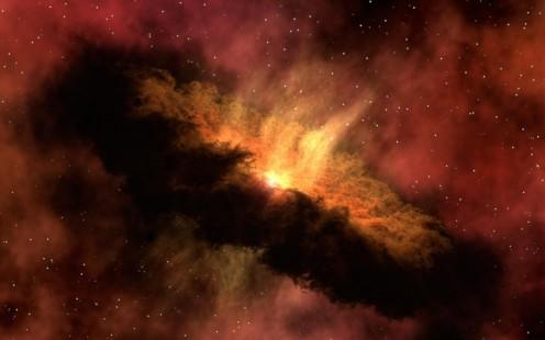 Artistic Image of Big Bang