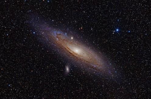 (h-alpha) Andromeda Galaxy