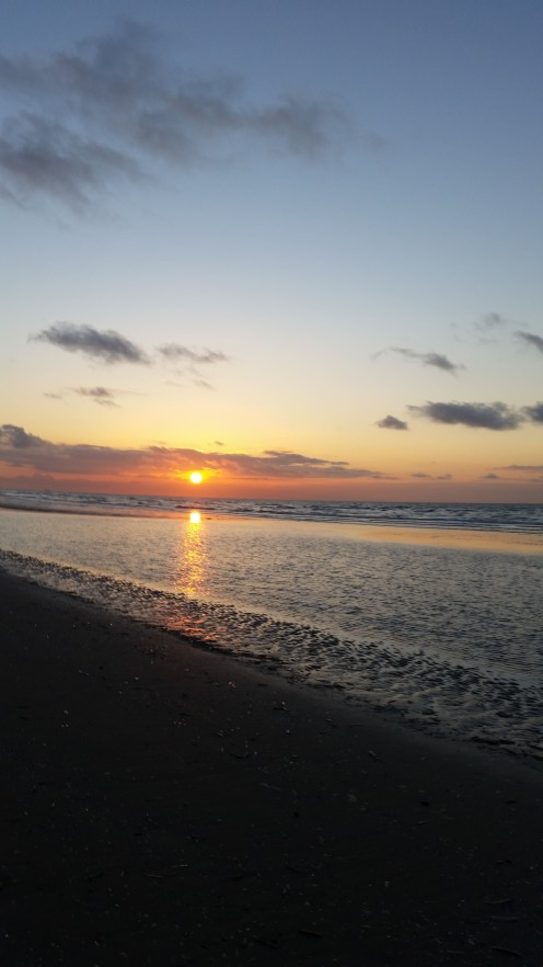 Sunset at Bray-Dunes