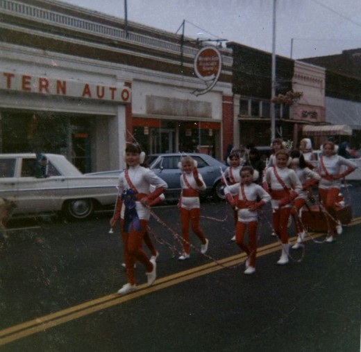 1960s Christmas, Downtown Poteau